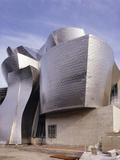 Guggenheim Museum, Bilbao, Spain Photographic Print by Carlos Dominguez