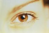 Woman's Healthy Brown Eye Photographic Print by Mauro Fermariello
