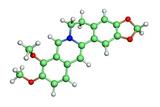 Berberine Molecule Posters by Dr. Tim Evans