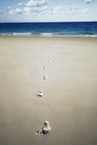 Footprints Prints by Carlos Dominguez