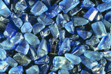 Sapphires Panned From River Gravels Photographic Print by Vaughan Fleming
