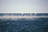 Frost Smoke' Rising From the Sea Off Ross Ice Photographic Print by Doug Allan