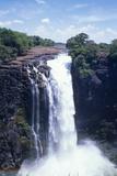 Victoria Falls Fotografisk tryk af Carlos Dominguez