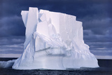 Iceberg Floating In the Ross Sea, Antarctica Photographic Print by Doug Allan