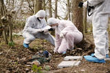 Forensic Training Photographic Print by Michael Donne