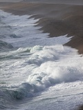Storm Waves At Chesil Beach Prints by Adrian Bicker