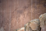 Native American Petroglyphs, Utah, USA Photographic Print by Bob Gibbons