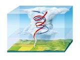 Tornado Dynamics, Artwork Photographic Print by Gary Gastrolab