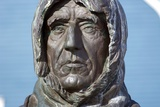 Statue of Roald Amundsen Photographic Print by Dr. Juerg Alean