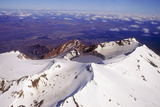 Mount Ruapehu Volcano, New Zealand Photographic Print by Dr. Juerg Alean