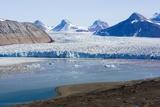 Kongsvegen Glacier Photographic Print by Dr. Juerg Alean
