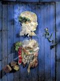 Organic Food, Conceptual Image Posters van Biddle Biddle