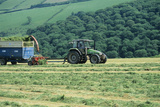 Silage Making Prints by David Aubrey