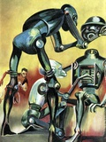 Robot Science-fiction Artwork Photo by CCI Archives