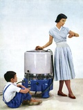1950s Washing Machine Advert Photographic Print by CCI Archives
