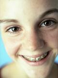 Dental Braces Photographic Print by Ian Boddy