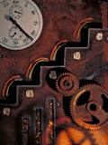 Mechanical Technology, Conceptual Artwork Premium Photographic Print by Biddle Biddle