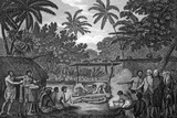 Human Sacrifice In Tahiti, Artwork Photographic Print by CCI Archives