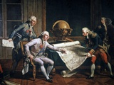 Louis XVI And La Perouse, Artwork Photographic Print by CCI Archives