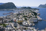 Alesund, Norway Photographic Print by Dr. Juerg Alean