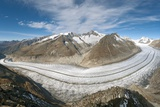 Aletsch Glacier, Switzerland Photographic Print by Dr. Juerg Alean