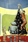 Christmas Science-fiction Artwork Photo by CCI Archives