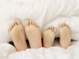 Children's Feet Photographic Print by Ian Boddy