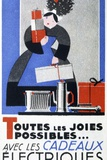 Electrical Appliances Advert Posters by CCI Archives