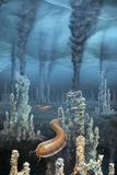 Alien Planet, Artwork Photographic Print by Richard Bizley
