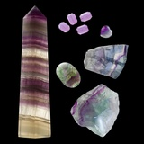 Fluorite Photographic Print by Paul Biddle