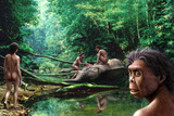 Homo Floresiensis Photographic Print by Mauricio Anton
