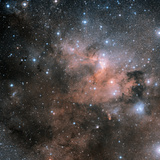 Cave Nebula (SH2-155) Photographic Print by Davide De Martin