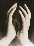 View of a Woman's Hands Held Together Photographic Print by  Cristina
