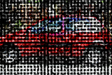 Digital Car, Computer Artwork Print by Christian Darkin