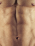 Man's Abdomen Photographic Print by  Cristina