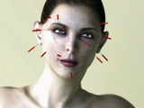 Facial Acupuncture, Artwork Prints by Christian Darkin