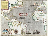 Sir Francis Drake's Voyage 1585-1586 Posters by Library of Congress