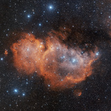 Emission Nebula IC 1848 Photographic Print by Davide De Martin