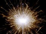 Sparkler Fotografisk tryk af Victor De Schwanberg