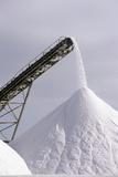 Salt Pan Industry Fotografisk tryk af Tony Camacho