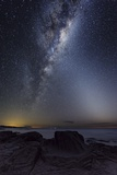 Milky Way Over Cape Otway, Australia Posters by Alex Cherney