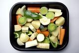Raw Vegetables Ready for Roasting Reprodukcja zdjęcia autor Victor De Schwanberg