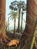 Carboniferous Amphibian, Artwork Photographic Print by Richard Bizley