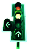 Traffic Lights Photographic Print by Kevin Curtis