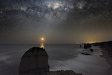 Milky Way Over Shipwreck Coast Print by Alex Cherney