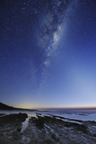 Milky Way Over Cape Otway, Australia Poster by Alex Cherney