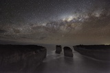 Milky Way Over Shipwreck Coast Posters by Alex Cherney