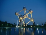 Atomium, Brussels Print by Tony Craddock