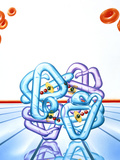 Haemoglobin Molecule Photographic Print by John Bavosi