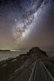 Milky Way Over Cape Schanck, Australia Prints by Alex Cherney